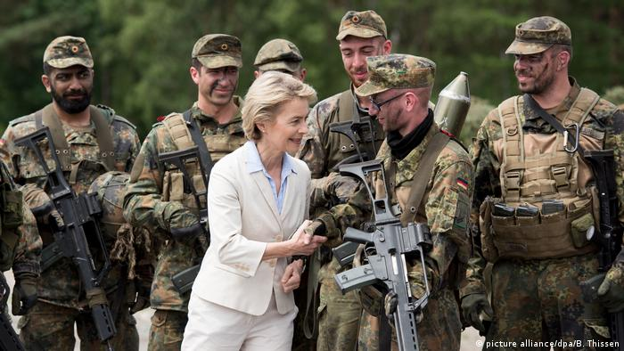 German defense minister eyes EU fund to boost military