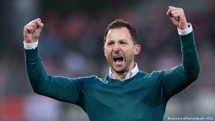 Fußball: 2. Bundesliga, 1. FC Union Berlin - FC Erzgebirge Aue Cheftrainer Domenico Tedesco (picture alliance/dpa/A. Hilse)