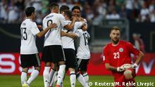 Fußball WM-Qualifikation Deutschland - San Marino Torjubel