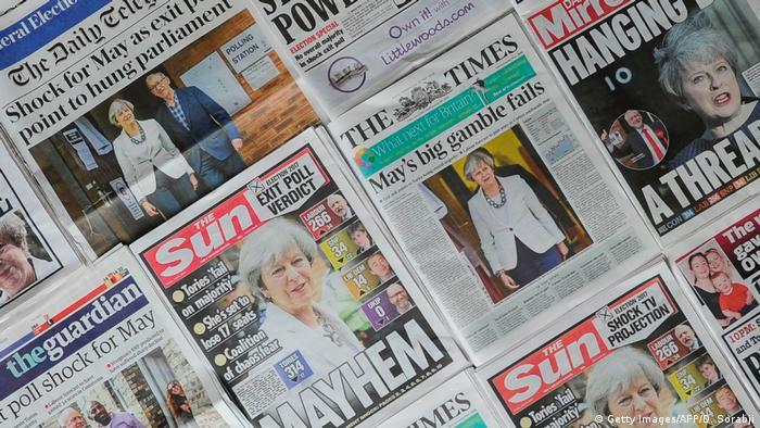 UK | Britische Presse nach Neuwahl in Großbritannien