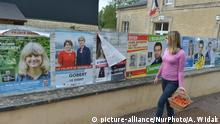 Frankreich | Wahlwerbung für die anstehende Prlamentswahl