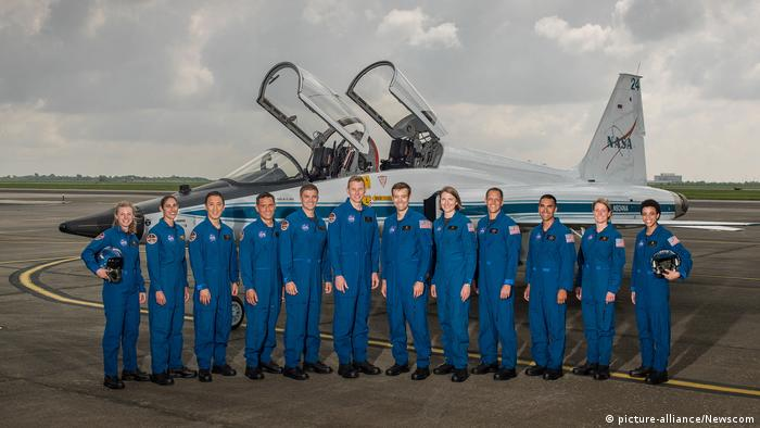 NASA Astronauten (picture-alliance/Newscom)
