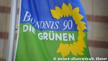 Fahne Bündnis 90/Die Grünen