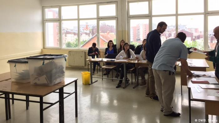 Kosovo Parlamentswahl (DW/B. Shehu)