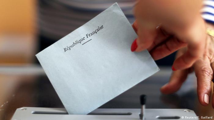 Frankreich Wahlen Nationalversammlung (Reuters/E. Gaillard)