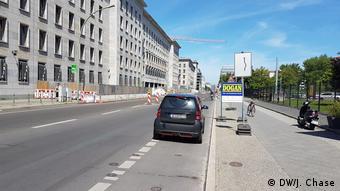 Berlin cycling lane