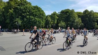 Ποδηλάτες στο Βερολίνο