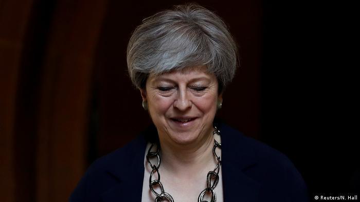 Großbritannien Theresa May Gottesdienst in Sonning