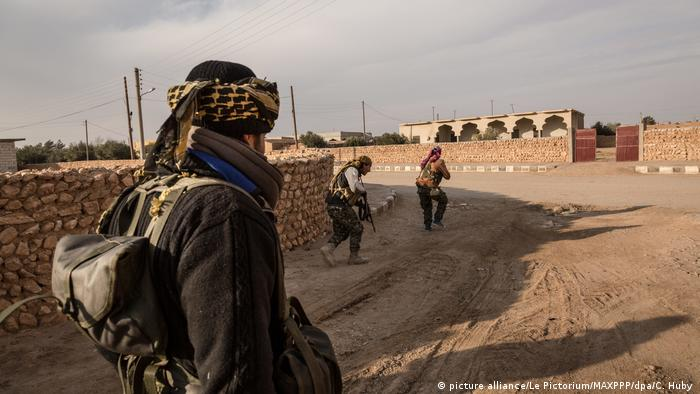 SDF soldiers