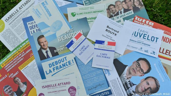 Frankreich Wahl 2017 | (picture alliance/dpa/A. Widak)