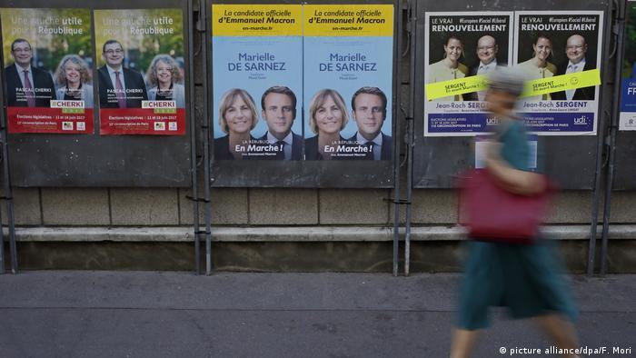 Frankreich Wahl 2017 | (picture alliance/dpa/F. Mori)