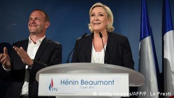 Parlamentswahl in Frankreich 2017 Marine Le Pen Front National (Getty Images/AFP/F. Lo Presti)