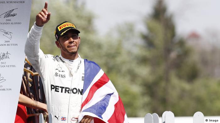 Formel 1 Großer Preis von Kanada in Montreal Circuit Gilles Villeneuve Jubel Lewis Hamilton (Imago)