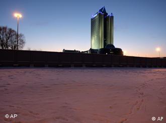 Штаб-квартира Газпрома в Москве