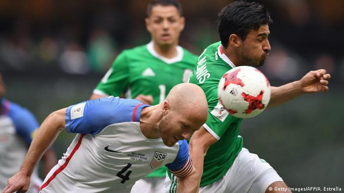 Mexiko | Fußball WM-Qualifikation | Mexiko vs USA (Getty Images/AFP/A. Estrella)