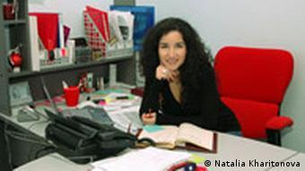 Natalia Kharitonova Zentralasien-Expertin aus Moskau (Natalia Kharitonova)