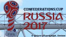 Russland Vorbereitung FIFA Confederations Cup 2017 in Moskau