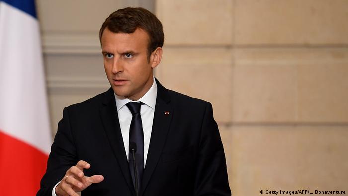 Frankreich Emmanuel Macron