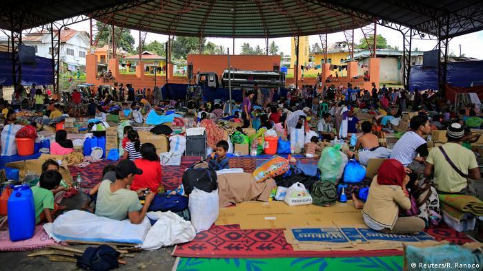 Philippinen Flüchtlingslager in Lanao Del Sur (Reuters/R. Ranoco)