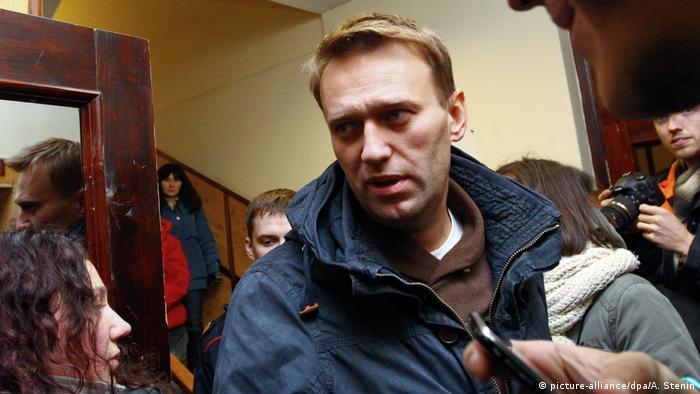 Russland Proteste nach der Wahl Alexei Navalny (picture-alliance/dpa/A. Stenin)