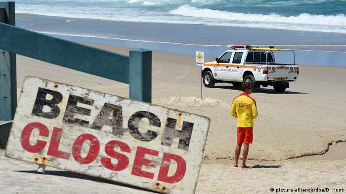 Playas bloqueadas por ataques de tiburones en Australia