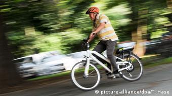 Deutschland Radfahrer in München
