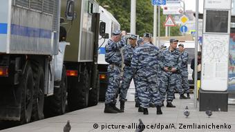 Russland Proteste in Moskau (picture-alliance/dpa/A. Zemlianichenko)