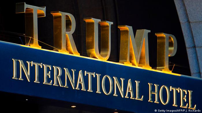 USA Trump International Hotel in Washington (Getty Images/AFP/P.J. Richards)