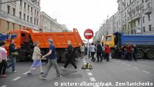 Russland Proteste in Moskau