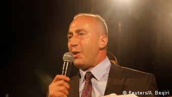 Kosovo Parlamentswahlen Ramush Haradinaj (Reuters/A. Beqiri)