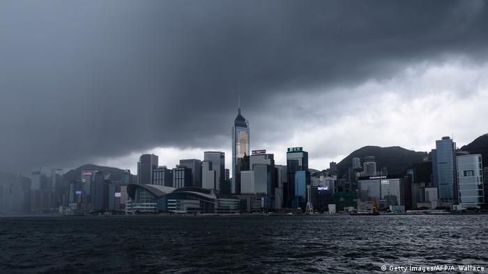 Hongkong Taifun Merbock