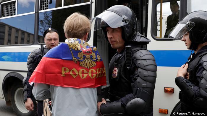 Russland Proteste in Moskau (Reuters/T. Makeyeva)