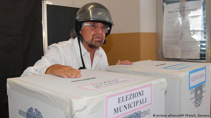 Itaien Bürgermeisterwahl in Genua