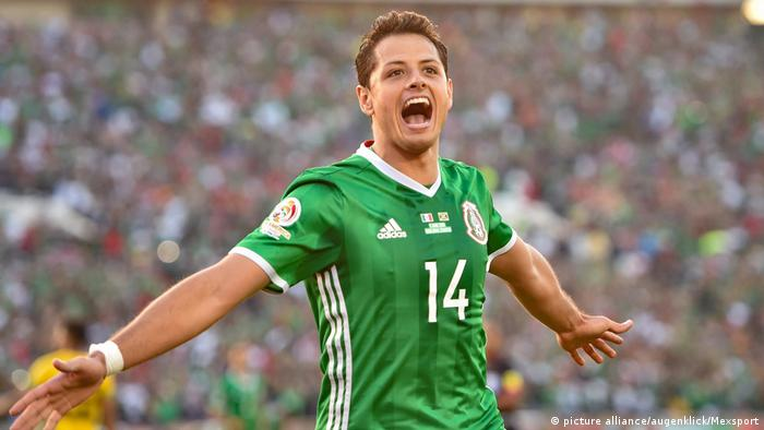 BG Confed Cup 2017 | Chicharito (picture alliance/augenklick/Mexsport)