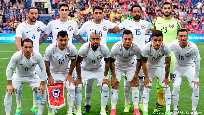 BG Confed Cup 2017 | Team Chile (Getty Images/AFP/N. Kolesnikova)