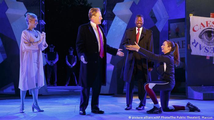 New York theater loses sponsors over Trump ′assassination′ scene ...