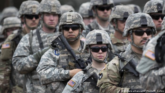 Американские военные в Литве (фото из архива)