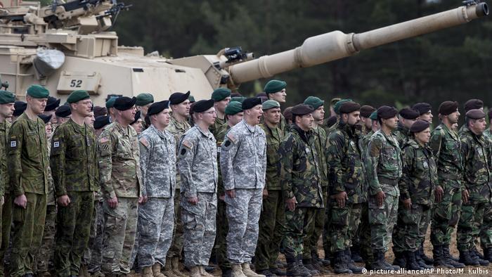 Під час начань НАТО Iron Wolf 2017 у Литві