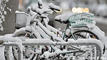 Wintereinbruch in NRW