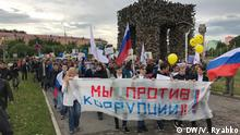 Russland Proteste in Perm