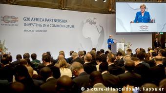 Deutschland G20 Afrika Treffen