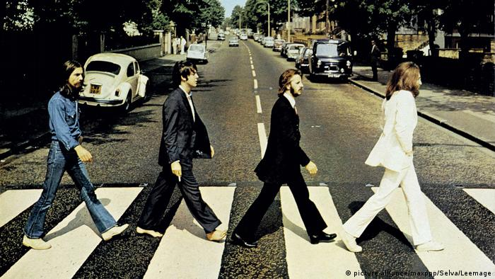 Coverbild von The Beatles Abbey Road (picture-alliance/maxppp/Selva/Leemage)