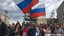 Russland Proteste in Moskau gegen Korruption