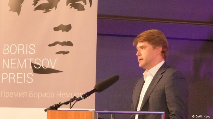 Boris-Nemtsov-Preis-Verleihung in Bonn