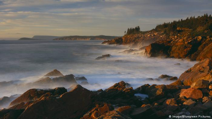 Coastline at dawn Lakies Head Cape Breton Highlands National Park near Ingonish Nova Scotia Canada (Imago/Bluegreen Pictures)