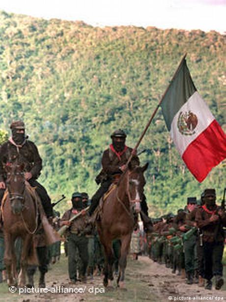 La rebelión zapatista de 1994 con demandas de justicia y reivindicación de los derechos indígenas y de los pobres.