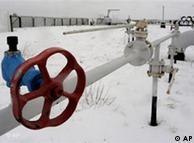 Detailaufnahme eines Hahnes an einer Gasleitung (Foto: AP)