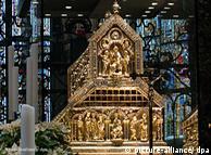 Der Schrein der Heiligen Drei Könige in Köln (Foto: dpa)