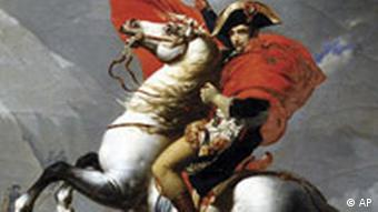 Napoleon Bonaparte, Gemälde von Jean-Baptiste Mauzaisse