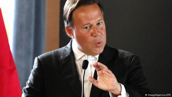 Panama Präsident Juan Darlos Varela (Imago/Agencia EFE)